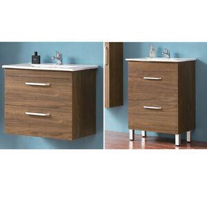 Waschtisch-mit-Unterschrank-60-cm-Badezimmer-Badmoebel-Set-Gaeste-WC-Moebel-Schrank