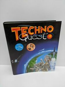 Vintage-Wallace-amp-Gromit-Techo-Quest-Folder-Part-1-Ring-Binder-New