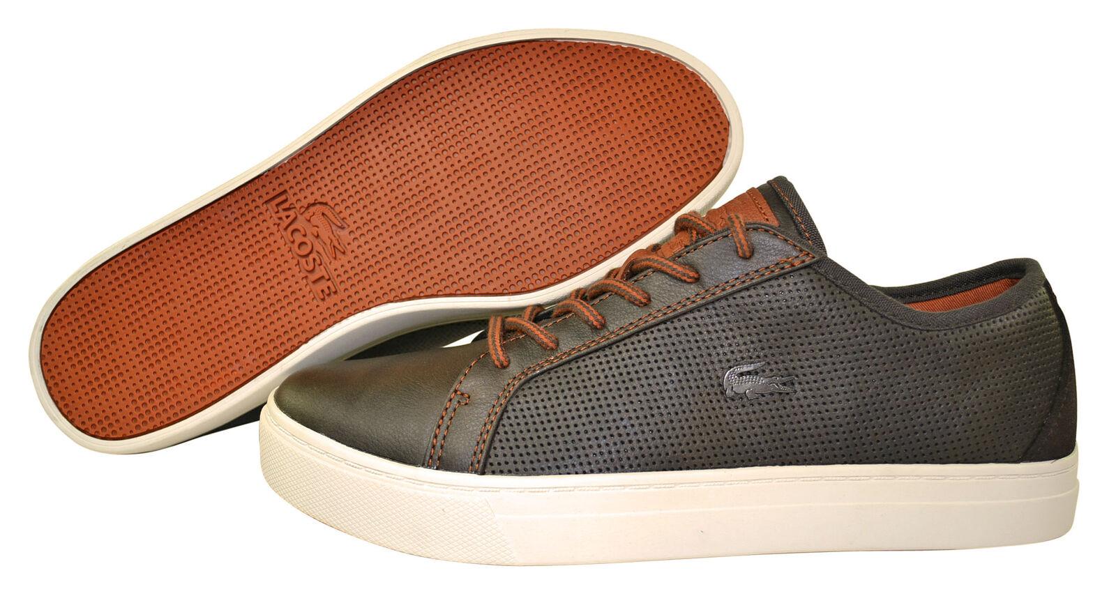 Lacoste Lewiston AP SRM dk brown Schuhe/Sneaker Größenauswahl