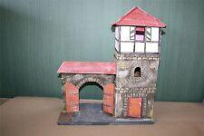 Stadt- Wehr- Turm mit Tor zu 7cm  -1415, Mittelalter, Spätmittelalter, History