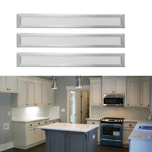 3er set led k che unterbauleuchte lichtleiste neutralwei ir bewegungsmelder ebay. Black Bedroom Furniture Sets. Home Design Ideas