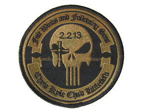 Punisher patch seal team 3 chris kyle velcro.