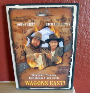 Wagons-East-DVD-2002-John-Candy-Richard-Lewis-NEW-Sealed