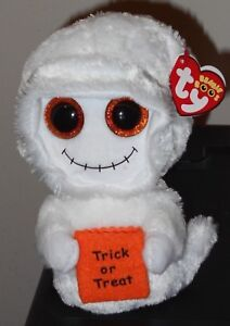 a8e70833c26 Ty Beanie Boos - MIST the White Halloween Ghost (6 Inch) NEW MWMT ...