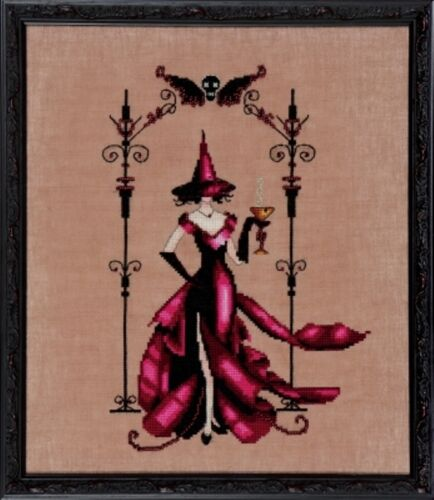 """SALE COMPLETE XSTITCH KIT /""""ZENIA NC223/"""" Bewitching Pixies by Nora Corbett"""