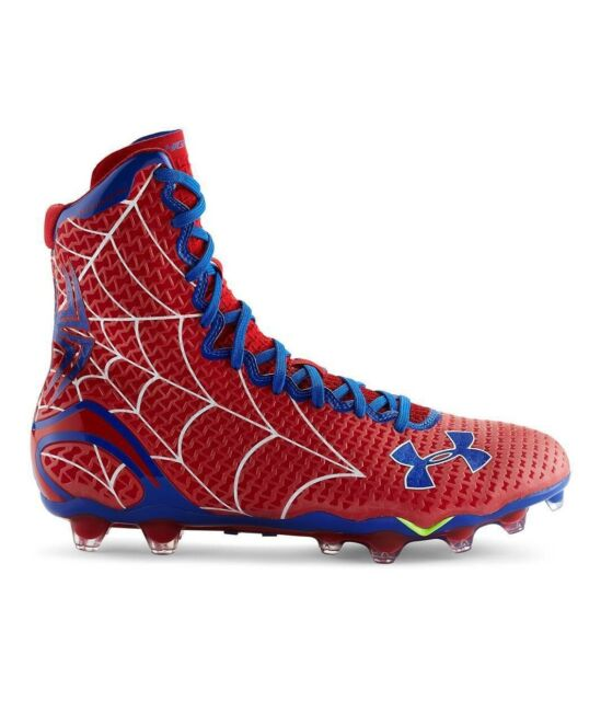 0793675c9 Under Armour Alter Ego Highlight MC Spiderman Mens Football Cleats Size 11