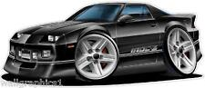 1982-92 Chevy Camaro IROC 5.7 TPI Wall Graphic Vinyl Decal Cartoon Car Man Cave