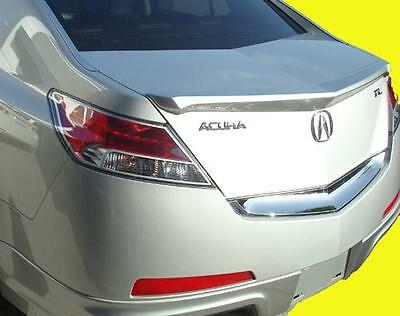 Painted Rear Trunk Spoiler For 2009-2016 Acura TL End Lip NH603P WHITE DIAMOND