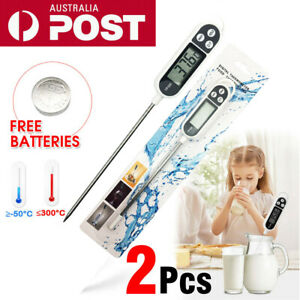 2X-Digital-Food-Thermometer-Cooking-Meat-Stab-Probe-Kitchen-Temperature-Baby-AU