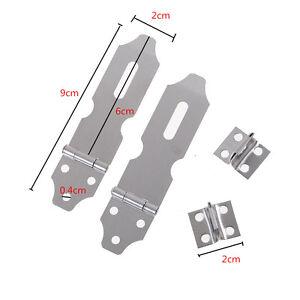 2-x-Cabinets-Portes-Cadenas-Loquet-Porte-Hasp-Agrafes-Vis-FR-PM