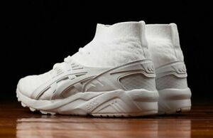 59ee344b0b0 Details about ASICS Men's Gel Kayano Trainer Knit MT White H7P4N 0101 size  9 NEW