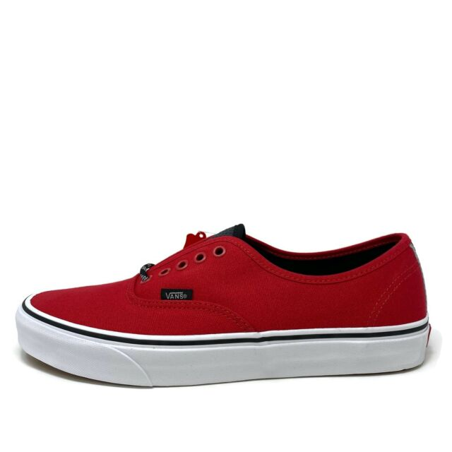 VANS Authentic Jester Red Black Sole