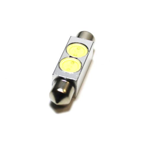 PORSCHE 911 993 264 42mm Intérieur Blanc LED Ampoule de courtoisie SUPERLUX mise à niveau de lumière