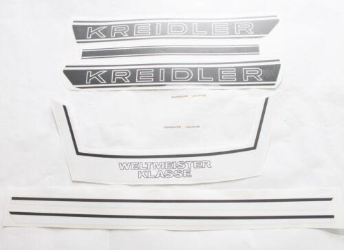 champion du monde blanc//noir Kreidler Fleuret k54 rmc s B 5 autocollant phrase 6 tl