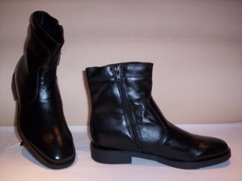 Scarpe classiche stivali stivaletti Mark Hero uomo shoe lana pelle neri 40 41 44