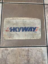 Skyway padset  for SkywayTA Syway Street Beat bmx old school vintage !..