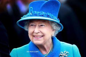"HM QUEEN ELIZABETH II 1952 A4 NEW GLOSSY PHOTO PRINT ROYAL FAMILY 11.75/"" X 8.25/"""