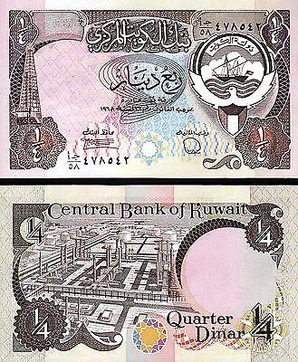 UNC KUWAIT 5 Dinars L.1968 Pick 14c