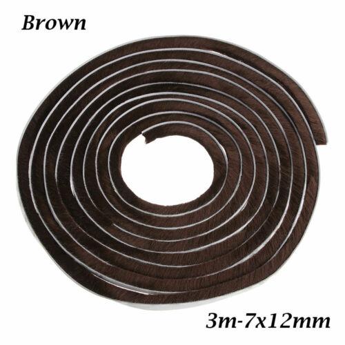 Strip Brush Sealing Strip Pile Weatherstrip Self Adhesive Door And Window Seal