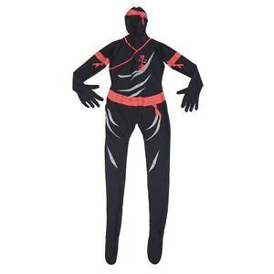 MORPHSUITS-Halloween-Costume-NINJA-Karate-Assassin-Cosplay-size-Medium-3011