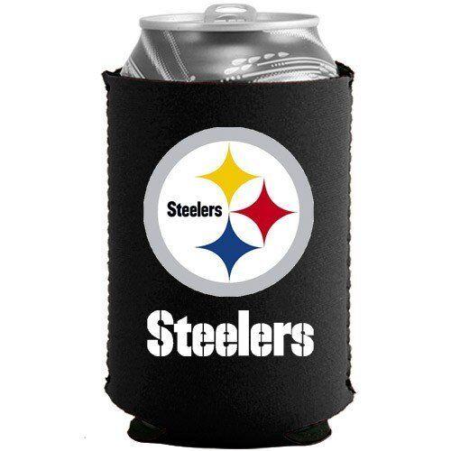 d4479b5b Pittsburgh Steelers Koozie Set of 6 Drink Coolie Can Holder Beverage  Insulator