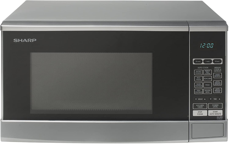 Display Digitale 23L 800W AUTO scongelamento, SS FORNO A MICROONDE TOSHIBA ML-EM23P