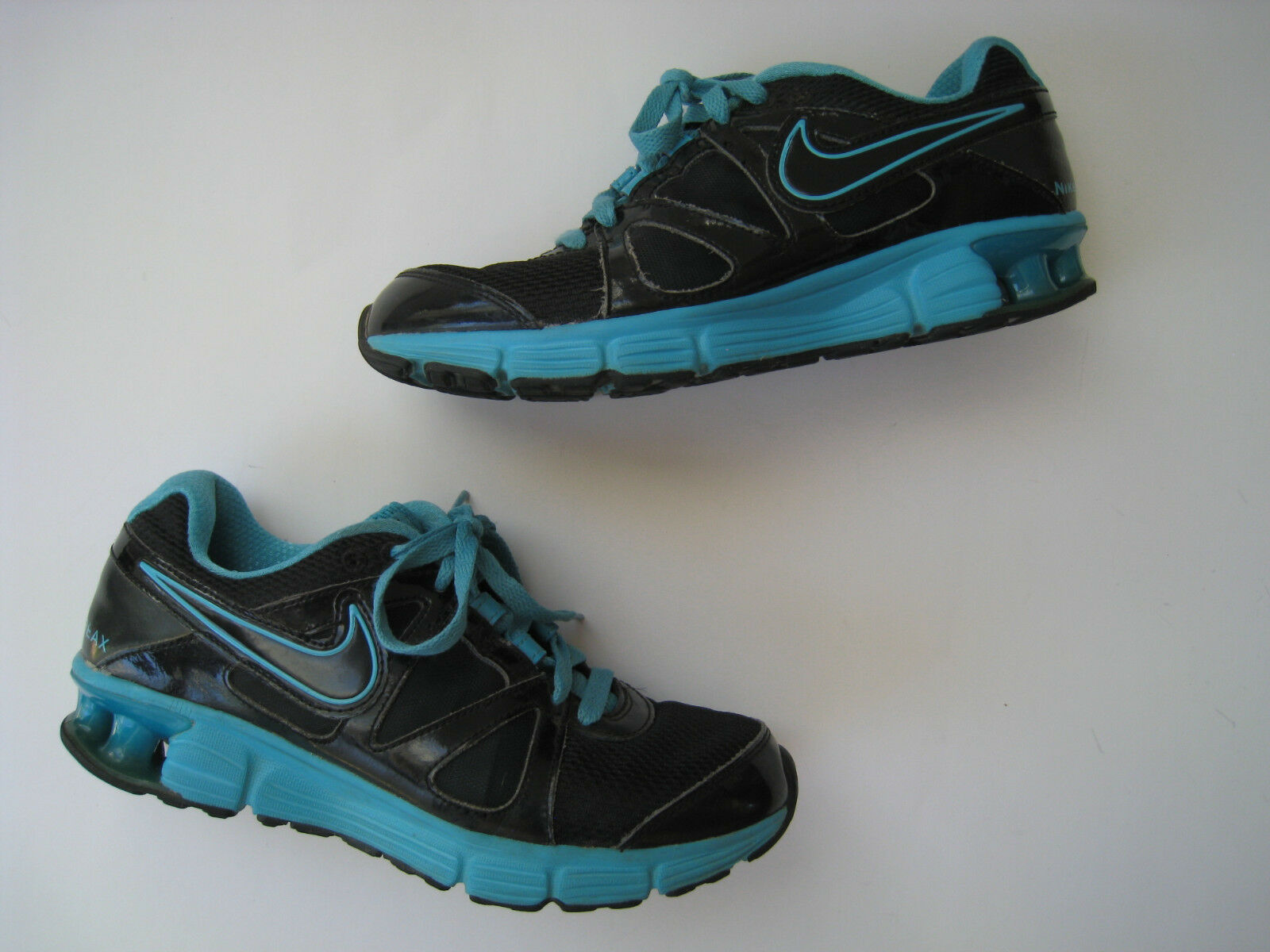 NIKE RELAX RUNNING SHOES WMNS US 8 BLUE - BLACK 454175-004 NICE New shoes for men and women, limited time discount