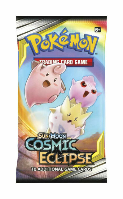 Pokémon Trading Card Game Sun & Moon Cosmic Eclipse Booster Pack