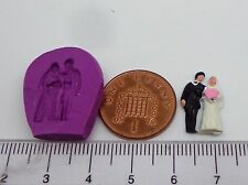 1:12 Scale Bride and groom Silicon Rubber Mold Dolls House Miniature Accessory