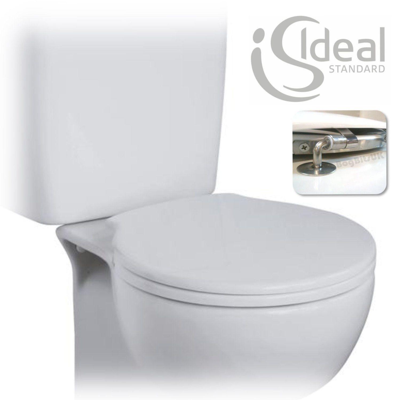 Idéal Standard espace siège de toilette & & & Cover Blanc E709101 Véritable Pièce De Rechange | La Mise à Jour De Style  8bb598