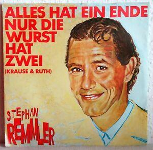 7 Vinyl - STEPHAN REMMLER - Alles hat eine Ende, nur die