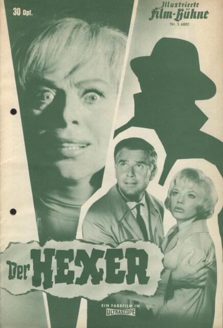 Filmprogramm IFB S6880: Der Hexer - Heinz Drache, Joachim Fuchsberger