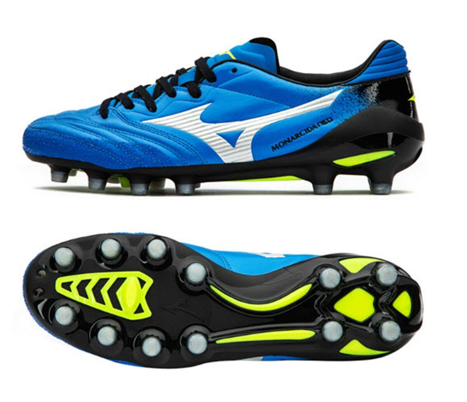 Mizuno Hommes Monarcida Neo JAPAN Cleats Soccer bleu Football Spike démarrage P1GA192027