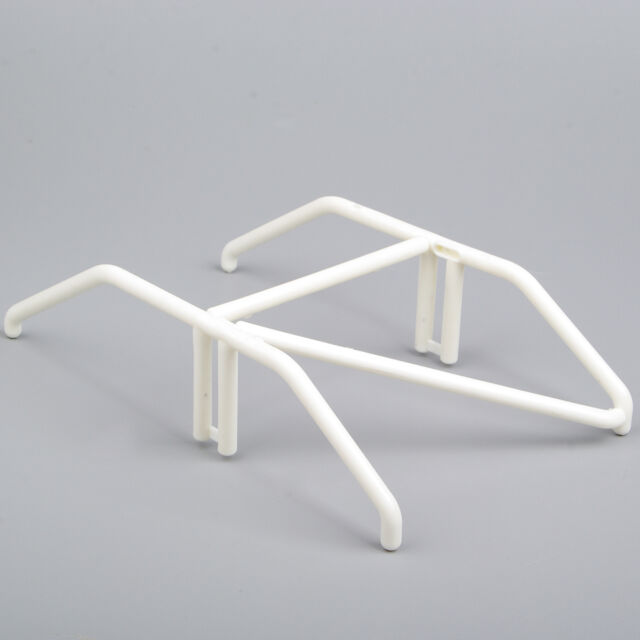 Interior Roll Cage Wing Mount Boom Racing 00165W White RC 1/10 Model Car Body