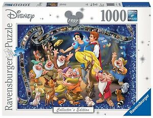 RAVENSBURGER PUZZLE*1000 TEILE*DISNEY COLLECTOR'S EDITION*SCHNEE<wbr/>WITTCHEN*OVP
