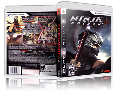 Ninja Gaiden Sigma 2 Replacement Ps3 Cover And Case No Game
