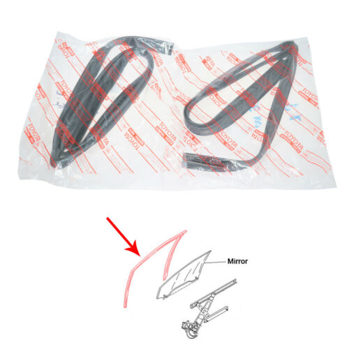 Fit Toyota Corolla AE100 101 AE102 Front Door Glass Run Channel Seal CE100 EE100