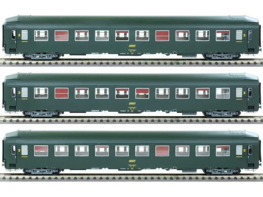 Ree modeles VB - 174 3 camas b9c9 Liverpool verde 301, marco gris