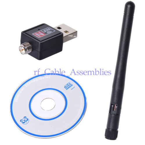 150 Mbps Mini USB WiFi Dongle 802.11B//G//N Wireless Network Adapter For Laptop PC