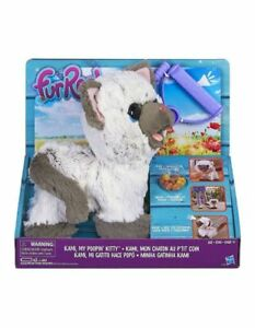 NEW Fur Real FurReal Kami My Pooping Kitty