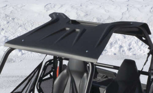 QuadBoss RZR Roof with Cargo Storage VPRE-RZR0101BK Fits Polaris RZR RAZR 570