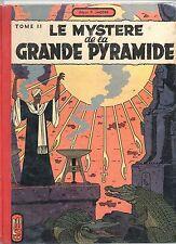 JACOBS. Le Mystère de la Grande Pyramide tome II. Lombard 1955. EO