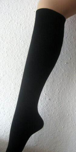 3 PAIA CALZE CALZETTONI Bambù Senza Elastico Extra Larghe federale NERO 39-46