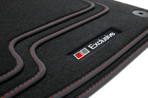 2009-07//2017 Exclusive Line Fußmatten für VW Polo 5 6R 6C Cross GTI Bj