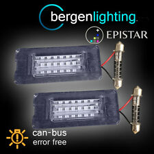 FOR BMW Mini R55 R56 R57 R58 R59 2006-2013 18 LED NUMBER PLATE LIGHT LAMP PAIR