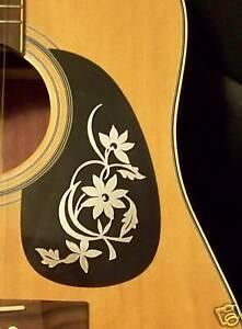 Guitar-Pick-Guard-Decal-Flower-Vinyl-Decal-Sticker