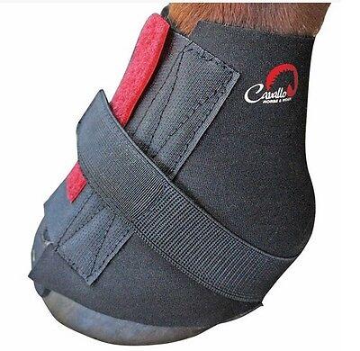 Cavallo Big Foot Bottes paturon Wraps Extra sabot protection Doux Confort 8 /& 10