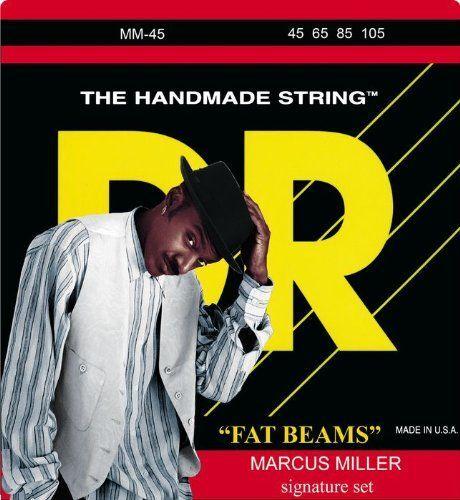 DR Strings MM45 Fat Beams Medium Bass