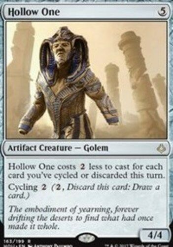 English -BFG- MTG Magic Hour of Devastation Near Mint 1x x1 Hollow One
