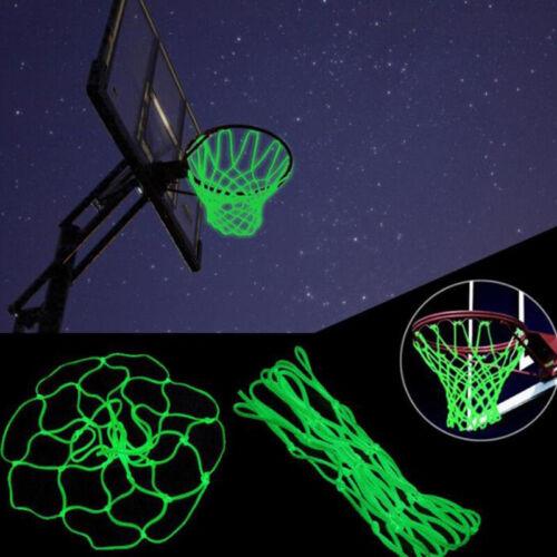 1xGlowing Basketball Net Basketball Hoop Mesh Outdoor Trainning  Luminous Net FJ